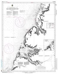 Buy map Bear Head to/a Cow Head by Canadian Hydrographic Service from Canada Maps Store