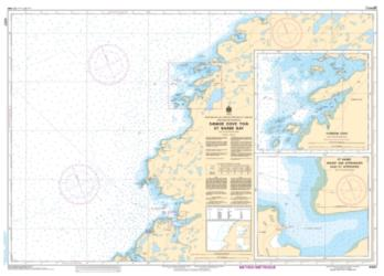 Buy map Savage Cove to/a St. Barbe Bay by Canadian Hydrographic Service from Canada Maps Store