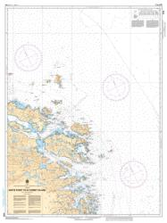 Buy map White Point to/a Corbet Island by Canadian Hydrographic Service from Canada Maps Store