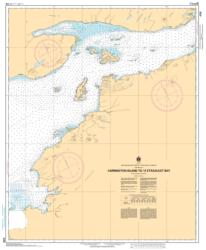 Buy map Carrington Island to/a Etagaulet Bay by Canadian Hydrographic Service from Canada Maps Store