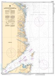 Buy map Forteau Bay to/a Domino Run by Canadian Hydrographic Service from Canada Maps Store