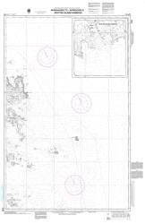Buy map Approaches to/Approches a Spotted Island Harbour by Canadian Hydrographic Service from Canada Maps Store