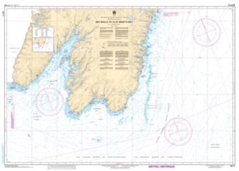 Buy map Bay Bulls to/a St. Marys Bay by Canadian Hydrographic Service from Canada Maps Store
