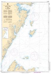 Buy map Cape St. John to/a St. Anthony by Canadian Hydrographic Service from Canada Maps Store