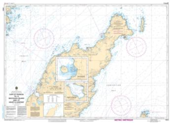 Buy map Cape St. Francis to/a Baccalieu Island and/et Hearts Content by Canadian Hydrographic Service from Canada Maps Store