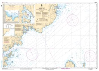 Buy map Trinity Bay-Northern Portion/Partie Nord by Canadian Hydrographic Service from Canada Maps Store