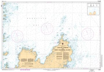 Buy map Catalina Harbour to/a Inner Gooseberry Islands by Canadian Hydrographic Service from Canada Maps Store
