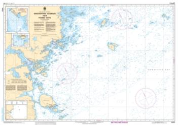 Buy map Greenspond Harbour to/a Pound Cove by Canadian Hydrographic Service from Canada Maps Store