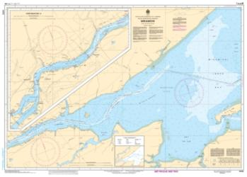 Buy map Miramichi by Canadian Hydrographic Service from Canada Maps Store