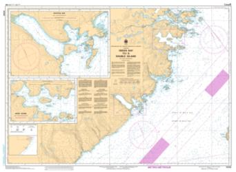 Buy map Green Bay to/a Double Island by Canadian Hydrographic Service from Canada Maps Store