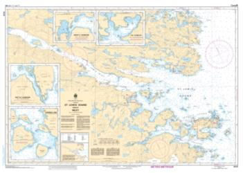 Buy map St. Lewis Sound and/et Inlet by Canadian Hydrographic Service from Canada Maps Store