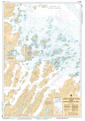 Buy map Winsor Harbour Island to/aux Kikkertaksoak Islands by Canadian Hydrographic Service from Canada Maps Store