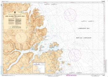 Buy map Hare Island to/a North Head by Canadian Hydrographic Service from Canada Maps Store