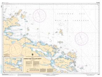 Buy map Domino Point to/a Cape North by Canadian Hydrographic Service from Canada Maps Store