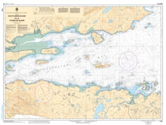 Buy map South Green Island to/a Ticoralak Island by Canadian Hydrographic Service from Canada Maps Store