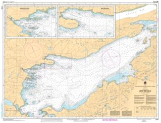 Buy map Lake Melville by Canadian Hydrographic Service from Canada Maps Store