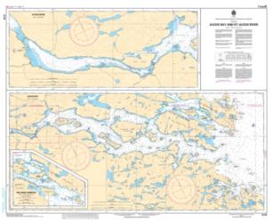 Buy map Alexis Bay and/et Alexis River by Canadian Hydrographic Service from Canada Maps Store