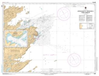 Buy map Approach to/Approches a Sorry Harbor by Canadian Hydrographic Service from Canada Maps Store