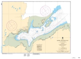 Buy map Hopes Advance Bay by Canadian Hydrographic Service from Canada Maps Store