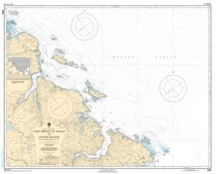 Buy map Cape Prince of Wales to Davies Island by Canadian Hydrographic Service from Canada Maps Store