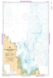 Buy map Approches a/Approaches to Riviere Koksoak by Canadian Hydrographic Service from Canada Maps Store
