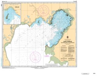 Buy map Coral Harbour and Approaches/et les Approches by Canadian Hydrographic Service from Canada Maps Store