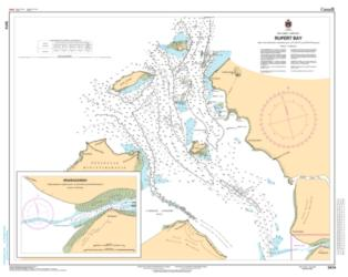 Buy map Rupert Bay by Canadian Hydrographic Service from Canada Maps Store
