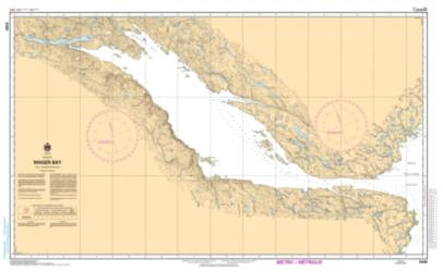 Buy map Wager Bay by Canadian Hydrographic Service from Canada Maps Store
