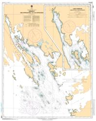 Buy map Kimmirut and Approaches/et les Approches by Canadian Hydrographic Service from Canada Maps Store