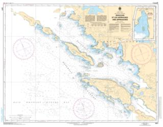 Buy map Inukjuak et les Approches and Approaches by Canadian Hydrographic Service from Canada Maps Store
