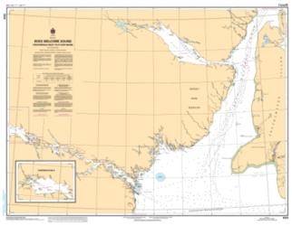 Buy map Roes Welcome Sound (Chesterfield Inlet to/a Cape Munn) by Canadian Hydrographic Service from Canada Maps Store