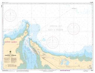 Buy map Churchill Harbour by Canadian Hydrographic Service from Canada Maps Store