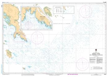 Buy map Whale Cove and Approaches/et Approches by Canadian Hydrographic Service from Canada Maps Store