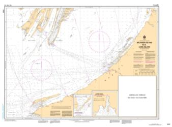 Buy map Belanger Island to Long Island by Canadian Hydrographic Service from Canada Maps Store