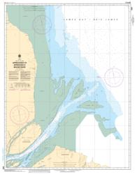 Buy map Approaches to/Approches a Moose River by Canadian Hydrographic Service from Canada Maps Store