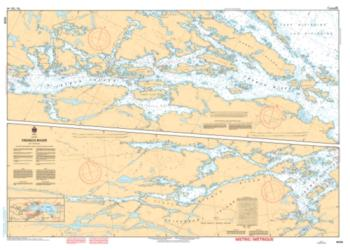 Buy map French River by Canadian Hydrographic Service from Canada Maps Store