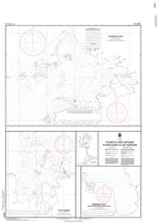 Buy map Plans in Lake Nipigon/Plans Dans le Lac Nipigon by Canadian Hydrographic Service from Canada Maps Store