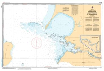 Buy map Berens River and Approaches by Canadian Hydrographic Service from Canada Maps Store