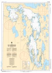 Buy map Lake Winnipegosis/Lac Winnipegosis by Canadian Hydrographic Service from Canada Maps Store