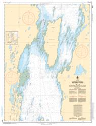 Buy map Red Deer Point to/a North Manitou Island by Canadian Hydrographic Service from Canada Maps Store