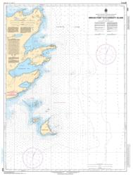 Buy map Mirage Point to/a Hardisty Island by Canadian Hydrographic Service from Canada Maps Store