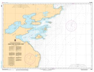 Buy map Jones Point to/a Burnt Point by Canadian Hydrographic Service from Canada Maps Store