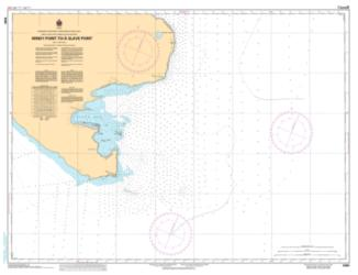 Buy map Windy Point to/a Slave Point by Canadian Hydrographic Service from Canada Maps Store
