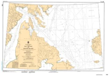 Buy map Mill Island to Winter Island by Canadian Hydrographic Service from Canada Maps Store