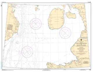 Buy map Cape Dorchester to Spicer Islands by Canadian Hydrographic Service from Canada Maps Store