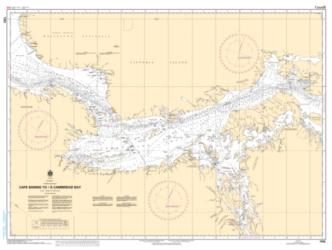 Buy map Cape Baring to/a Cambridge Bay by Canadian Hydrographic Service from Canada Maps Store