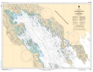 Buy map Culbertson Island to/a Koojesse Inlet by Canadian Hydrographic Service from Canada Maps Store