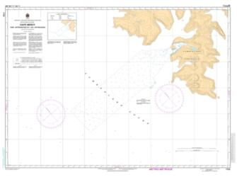 Buy map Cape  Mercy and Approaches/et les Approches by Canadian Hydrographic Service from Canada Maps Store