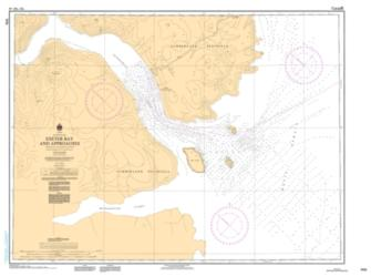 Buy map Exeter Bay and Approaches/et les Approches by Canadian Hydrographic Service from Canada Maps Store
