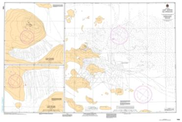 Buy map Cape Hooper and Approaches by Canadian Hydrographic Service from Canada Maps Store